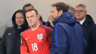 Gareth Southgate: I've not spoken to Man United striker Wayne Rooney over omission