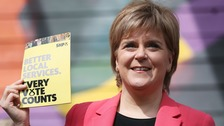 SNP launches its General Election manifesto