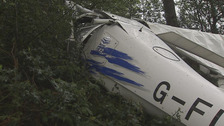 Two hurt in Castlewellan light aircraft crash