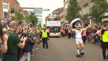 Thousands turn out to celebrate Exeter Chief's title