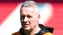 Paul Lambert, head coach of Wolves, leaves the club