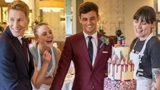 The icing on the cake - Tom Daley's wedding surprise