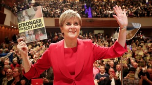 Sturgeon urges voters to help keep Tories in check