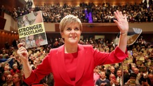 Sturgeon: SNP win would reinforce indy poll mandate