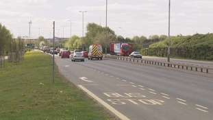 A33 lane closures