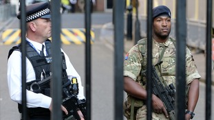 Military support scaled back after Manchester attack