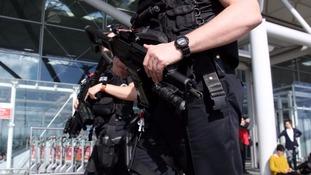 Terror arrest