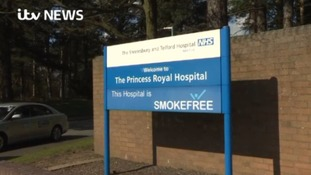 The trust runs the Royal Shrewsbury Hospital and the Princess Royal in Telford