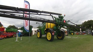 The show shows off the latest in farm technology