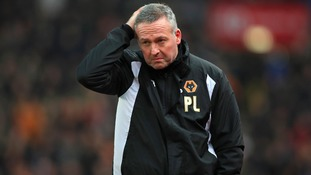 Lambert 'disappointed' to leave but thanks Wolves supporters for season