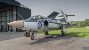 Restored and re-painted RAF aircraft to go on display in Yorkshire