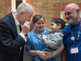 Jeremy Corbyn is keen to move the campaigning on to the NHS and education