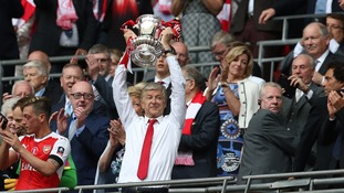 Arsene Wenger is staying put.