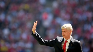 Rumours have been rife about Wenger's future.
