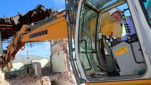 Northallerton prison demolition nears end