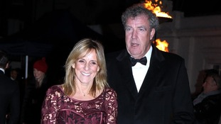 Jeremy Clarkson and his wife Frances arrive to attend 'A Night of Heroes: The Sun Military Awards'