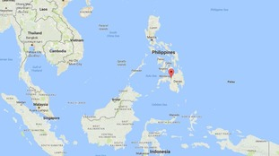 The air strike hit Marawi on the southern island of Mindanao.