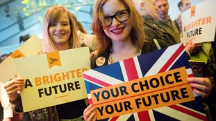 Th Liberal Democrats want a second referendum on Brexit.