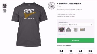 The Covfefe T-shirt.