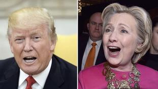 Hillary Clinton hits back at Trump tweet with 'covfefe' joke