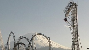 The Takabisha roller coaster