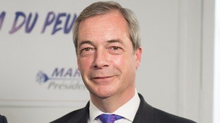 Nigel Farage is reportedly a 'person of interest' in the FBI probe.