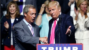 Donald Trump invited Nigel Farage to join him on the campaign trail.