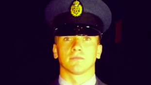 Corrie McKeague was based at RAF Honington in Suffolk.