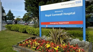 Sign of Cornwall Hospital