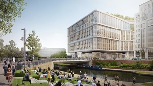 Artist's impressions of Google's new HQ
