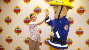 Ten year-old Gideon Jones from Leicestershire has been named 'Young Hero of the Year'