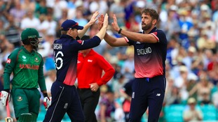 Liam Plunkett took four wickets.