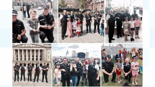 Nottinghamshire Police officers say they are touched by messages of support from the public.