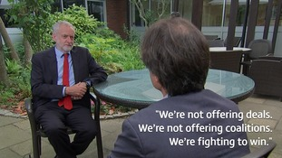 'Never underestimate anybody': Corbyn says he's 'ready' to become the next Prime Minister