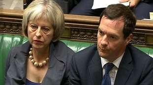 Theresa May's current aim has previously been condemned by former chancellor George Osborne.
