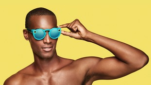 A pair of Snapchat's Spectacles