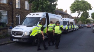 Two in custody after anti terror raids in Huddersfield and Sheffield