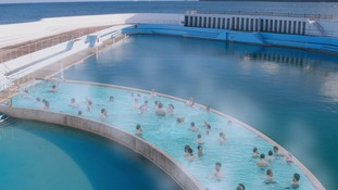Historic open air pool to become first to be heated using geothermal energy