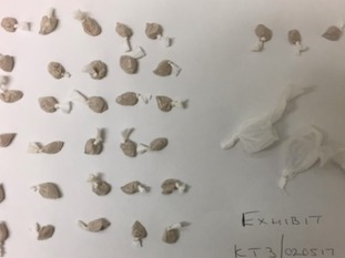 Officers found bags containing individual street deals of heroin and crack cocaine