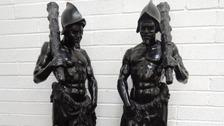 19th century Spanish conquistador statues found near Ulverston