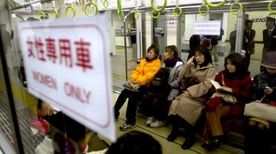 Special female-only train carriages were launched in Tokyo in 2000 to combat the growing problem of assaults.