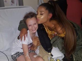 Ariana with Jaden Farrell-Mann.