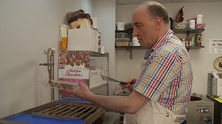 Mike Simmons have been running his chocolate shop for over 18 months.