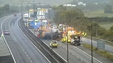 The recovery operation underway this morning