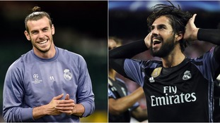 Bale and Isco