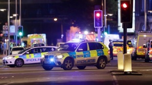 Twitter reaction in the south to London terror attacks