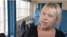 Tina Malone talking to Granada Reports in 2012