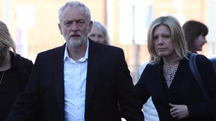 Mr Corbyn in Carlisle