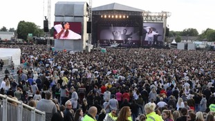 50,000 people were watching the One Love Manchester concert.