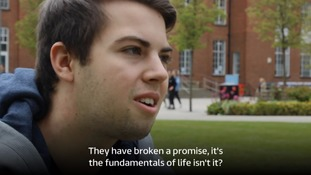 Students like Daniel have turned their backs on the Lib Dem Party.